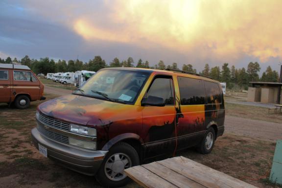Safari the Van.